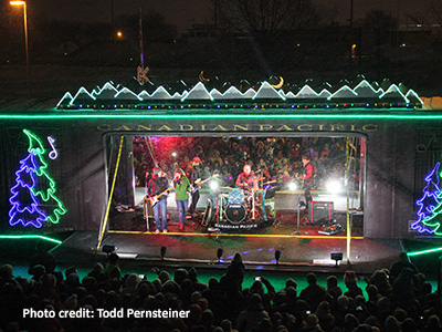 Canadian Pacific Holiday Train Returns to St. Louis Park