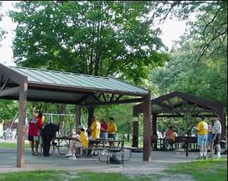 oak hill central picnic shelter