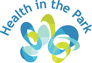Health in the Park logo