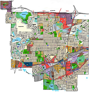 St. Louis Park Zoning Map