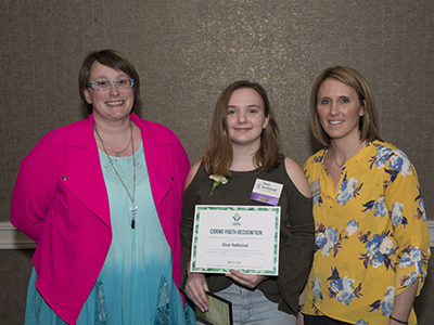 2018 Caring Youth Award, Elise Hatlestad