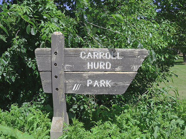 carroll-hurd-park-sign