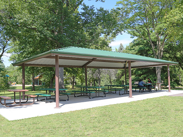 oak hill park central shelter