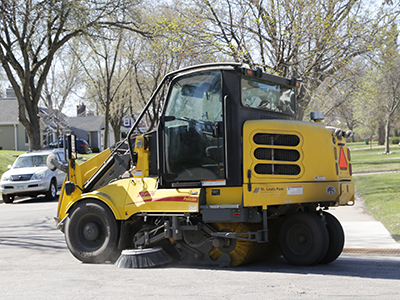 Street sweeping citywide April 22 – 26