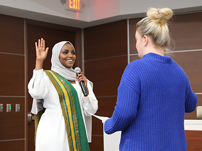 nadia mohamed sworn in