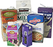 acceptable recyclable cartons - milk cartons, broth cartons